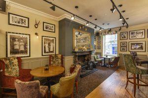 Rutland Arms Bar Seating