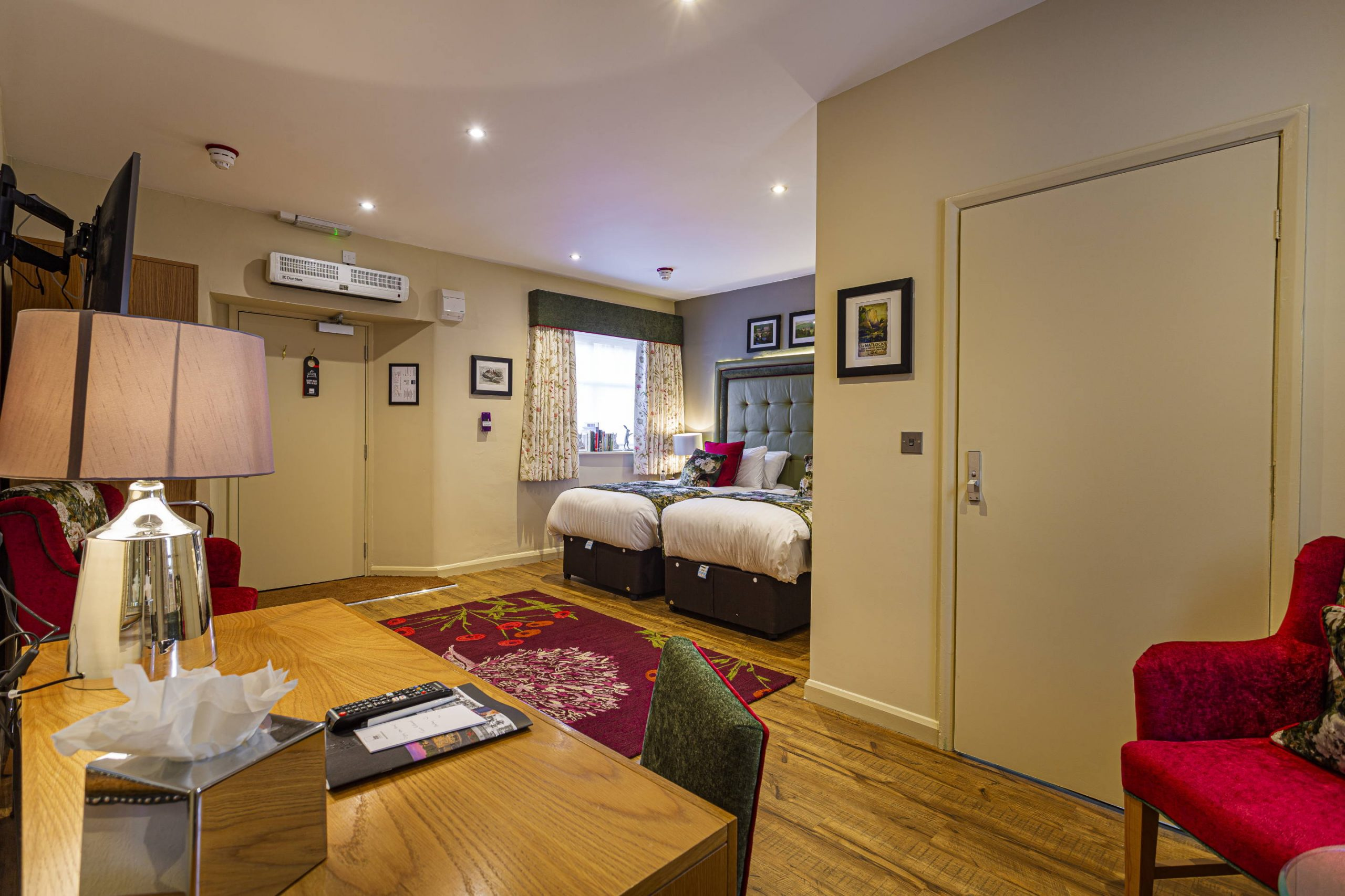Accessible Twin Room | Rutland Arms Hotel | Bakewell Estate