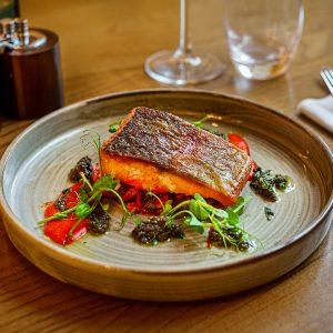 Fish Dish at The Rutland Arms Bakewell