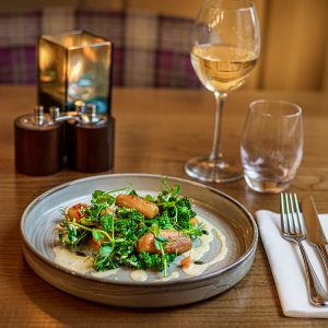 Gnocci at The Rutland Arms Bakewell