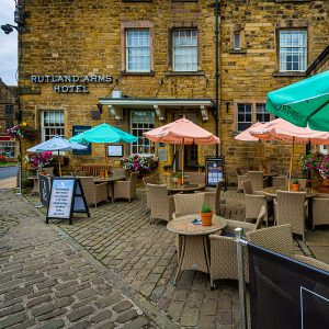 Rutland Arms Outside Seating