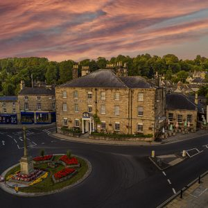 Rutland Arms Sunrise Aerial